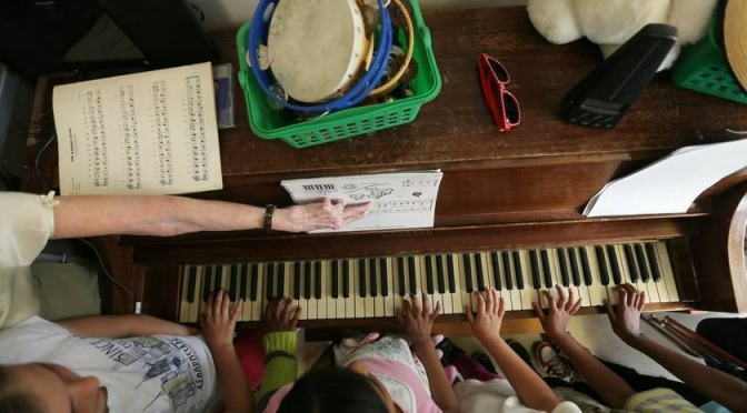Childhood Piano Lessons